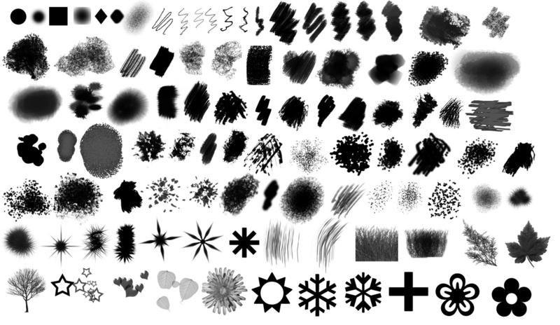 40+ New and Free Photoshop Brush Packs