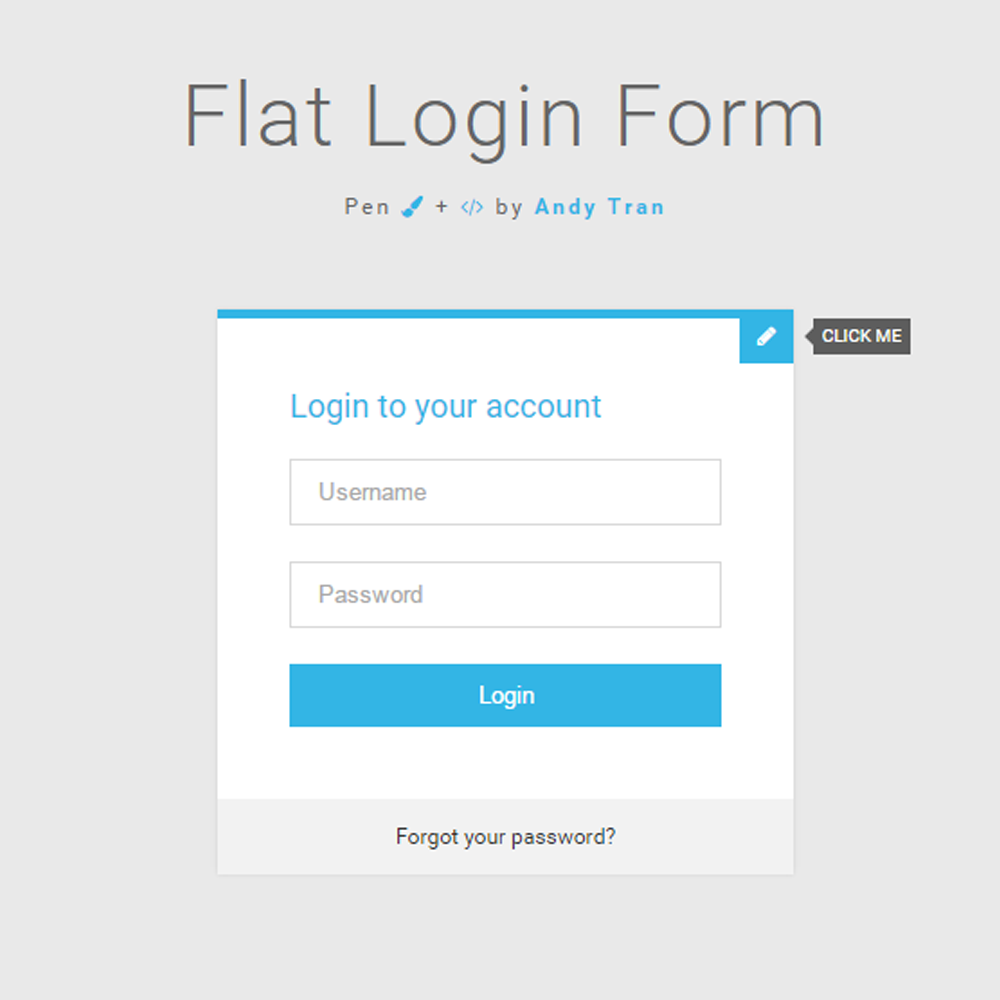 login page templates free download in asp net - 15 creative web forms inspiration