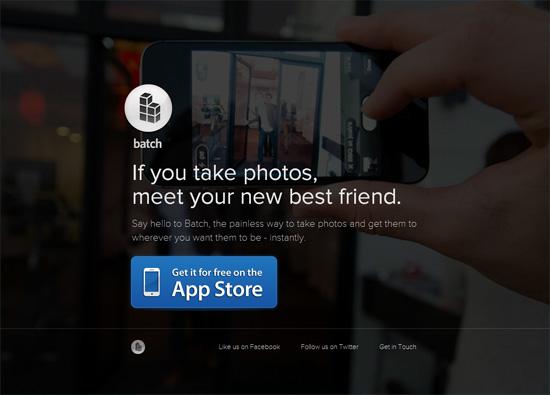 iOS App Website Designs