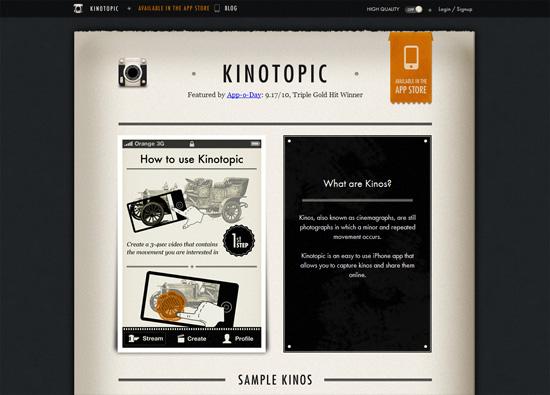 Kinotopic