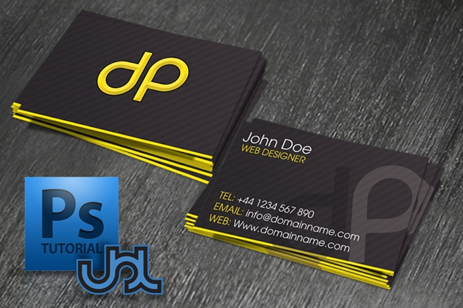 design a business card in photoshop