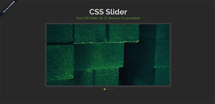 Pure CSS Slider