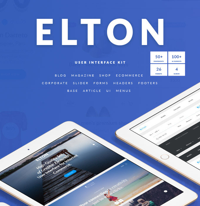 Elton for Ecommerce