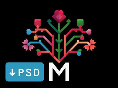 Moldova Flat Logo