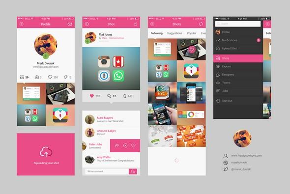 dribbble_app_concept