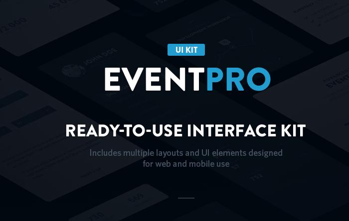 eventpro free ui kit