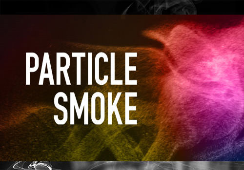 Particle Smoke Photoshop Brushes