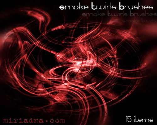 Twirl Smoke Brushes