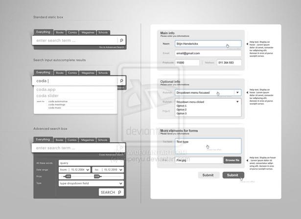 Web Form Elements